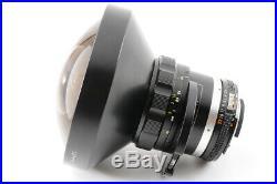 ALMOST UNUSED TOP MINT+ NIKON AIS Fisheye-NIKKOR 8mm F/2.8 Prime MF Lens JAPAN