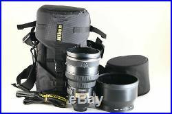 B Very Good Nikon AF-S NIKKOR 200mm f/2 G ED VR Lens withCase From JAPAN 6122