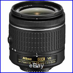 Black Friday Deal Nikon D5600 Dslr Camera 18-55mm Af-p Vr Nikkor 18-55 Lens Sale