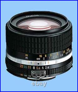 Brand New Unused Nikon Ais Nikkor 28mm f/2.8 Wide Angle Manual Lens Ai S MF F2.8