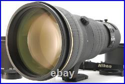 C Normal Nikon AF-S NIKKOR 400mm f/2.8 ED IF D Lens with Trunk From JAPAN 6445