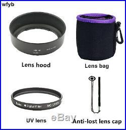DX AF-S Nikkor 35mm 11.8G for Nikon F Bayonet Lens Black with Hood uv gift