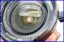 EXC+5 with FINDER in BOX Nikon UW NIKKOR 15mm f/2.8 Lens for NIKONOS from JAPAN