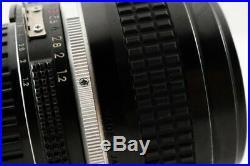 Excellent+++ Nikon Ai Nikkor 50mm f/1.2 Standard MF Lens from Japan
