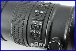 Excellent+++++ Nikon ED AF-S VR-NIKKOR 70-200mm f/2.8 G Lens by DHL from Japan