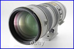 MINT Case NIKON AF-S VR NIKKOR 70-200mm F/2.8 G ED Light Gray from Japan 488