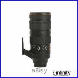 NEW Nikon AF-S NIKKOR 70-200mm f/2.8E FL ED VR Lens