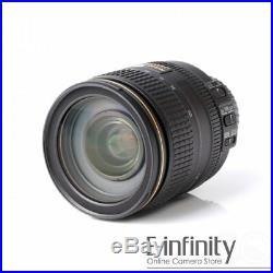 NEW Nikon AF-S Nikkor 24-120mm F/4 G ED VR Lens