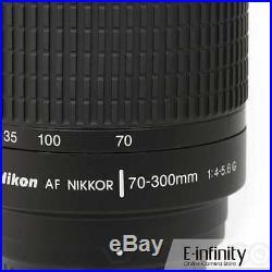 NEW Nikon AF Zoom-Nikkor 70-300mm f/4-5.6G Lens