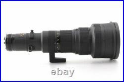 NIKON AI-S 500mm F/4 P ED Nikkor AIS MF Lens Near Mint Trunk Case From Japan663