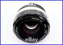 NIKON NIKKOR 55mm f1.2 1973 AI CONVERTED EXCELLENT