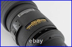 Near MINT Case NIKON AF-S 600mm f/4 D ED Nikkor Telephoto Lens from Japan 542