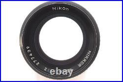 (Near MInt) NIKON AIS NIKKOR 85mm f/2 Prime MF SLR Lens Ai-s From JAPAN A437