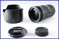 Near Mint NIKON AF-S NIKKOR ED 24-70mm f/2.8 G 2.8G Aspherical IF SWM