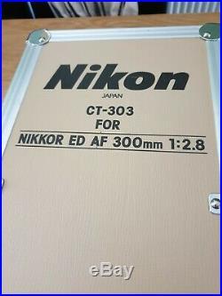 Near Mint Nikon Nikkor AF 300mm f/2.8 ED