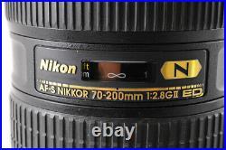 Near MintNIKON AF-S NIKKOR 70-200mm F/2.8 G II VR ED IF FX Zoom AF Lens JAPAN