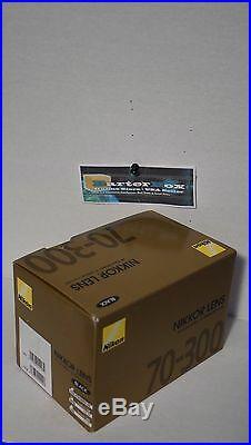 New Year Deal Sale 70-300 Nikon Af Zoom Nikkor 70-300mm f/4-5.6G Lens + Hood