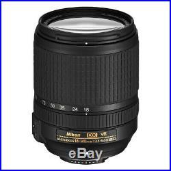 Nikon 18-140mm f/3.5-5.6G ED VR AF-S DX NIKKOR Zoom Lens for Nikon DSLR Cameras