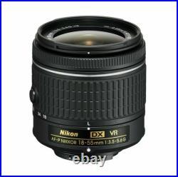 Nikon 18-55mm f/3.5-5.6G VR AF-P DX NIKKOR Zoom Lens READ COMPATIBLE MODELS