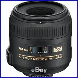 Nikon 40mm f/2.8G AF-S DX Micro-Nikkor Lens 2200