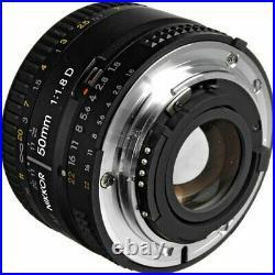 Nikon 50mm f/1.8D AF Nikkor Lens for Nikon Digital SLR Cameras BRAND NEW