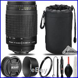 Nikon 70-300mm f/4-5.6G AF Nikkor Zoom Lens for D7000, D7100, D7200, D750