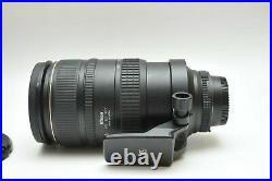 Nikon 80-400mm f/4.5-5.6D ED VR AF Nikkor Lens SN US425627