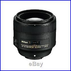 Nikon AF FX NIKKOR 85mm f/1.8G Fixed Lens with Auto Focus for Nikon DSLR Cameras