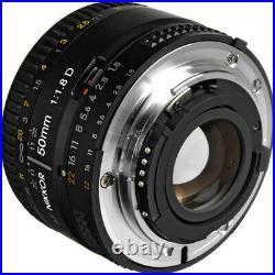 Nikon AF NIKKOR 50mm f/1.8D Autofocus Lens 2137