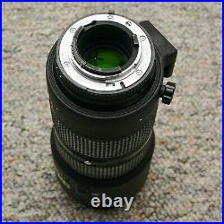 Nikon AF NIKKOR 80-200mm f/2.8D ED Zoom Lens with Case and UV Filter