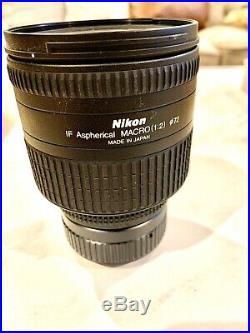 Nikon AF Nikkor 24-85mm 12.8-4 D Macro lens