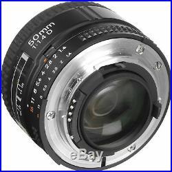 Nikon AF Nikkor 50mm f/1.4D Autofocus Lens for DSLR Cameras