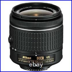 Nikon AF-P 18-55mm f/3.5-5.6G DX VR NIKKOR Zoom Lens NEW Technology