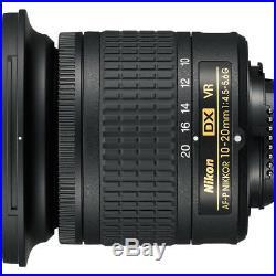 Nikon AF-P DX NIKKOR 10-20mm f/4.5-5.6G VR Lens (20067)