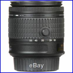Nikon AF-P DX NIKKOR 18-55mm f/3.5-5.6G VR Lens Filter Bundle New in White Box