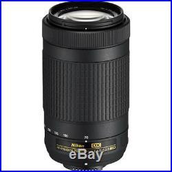 Nikon AF-P DX NIKKOR 70-300mm f/4.5-6.3G ED Lens for Nikon DSLR Cameras NEW