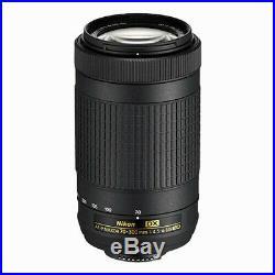 Nikon AF-P DX NIKKOR 70-300mm f/4.5-6.3G ED Lens for Select Nikon DSLR Cameras