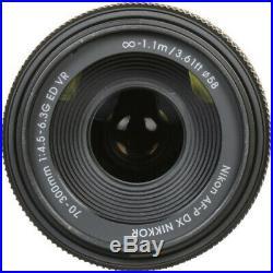 Nikon AF-P DX NIKKOR 70-300mm f/4.5-6.3G ED VR DX Format F-Mount Lens