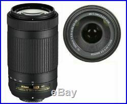 Nikon AF-P DX NIKKOR 70-300mm f/4.5-6.3G ED VR LENS FOR NIKON D3000 D3100 D3200