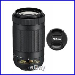 Nikon AF-P DX NIKKOR 70-300mm f/4.5-6.3G ED VR Lens 20062 for Nikon DSLR Cameras