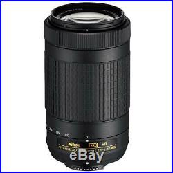 Nikon AF-P DX NIKKOR 70-300mm f/4.5-6.3G ED VR Lens Refurbished by Nikon
