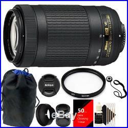 Nikon AF-P DX NIKKOR 70-300mm f/4.5-6.3G ED VR Lens + Top Accessory Kit