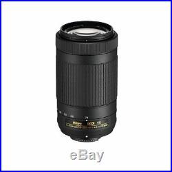 Nikon AF-P DX NIKKOR 70-300mm f/4.5-6.3G ED VR Lens for DSLR Camera Bodies