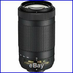 Nikon AF-P DX NIKKOR 70-300mm f/4.5-6.3G ED VR Lens for Nikon DSLR Cameras