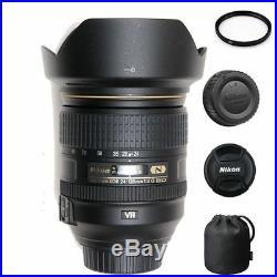 Nikon AF-S 24-120mm F/4G ED VR + 77mm UV Filter