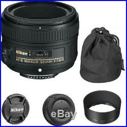 Nikon AF-S 50mm f/1.8G NIKKOR Lens for Nikon DSLR Cameras, 2199
