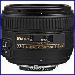 Nikon AF-S DX FX Full Frame NIKKOR 50mm f/1.4G Lens