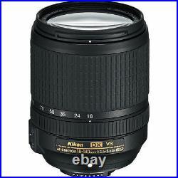 Nikon AF-S DX NIKKOR 18-140mm f/3.5-5.6G ED VR Lens 2213