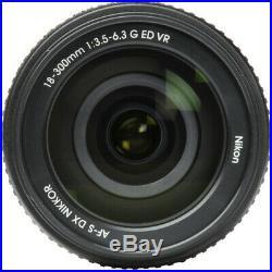 Nikon AF-S DX NIKKOR 18-300mm f/3.5-6.3G ED VR Lens 2216 Pro Filter Kit Bundle