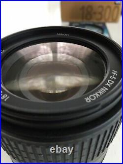 Nikon AF-S DX NIKKOR 18-300mm f/3.5-6.3G ED VR Lens + Extras Mint